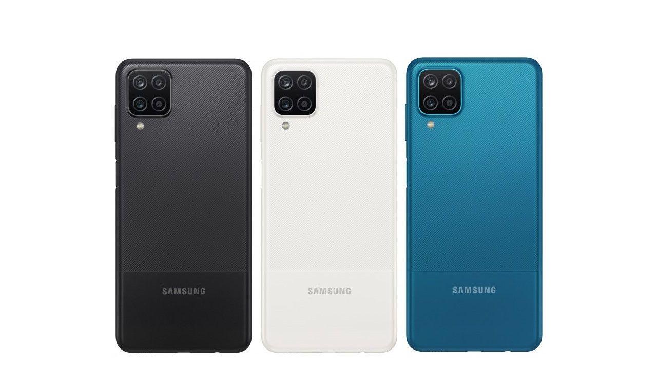 Galaxy A12. (Foto: Divulgação/Samsung)