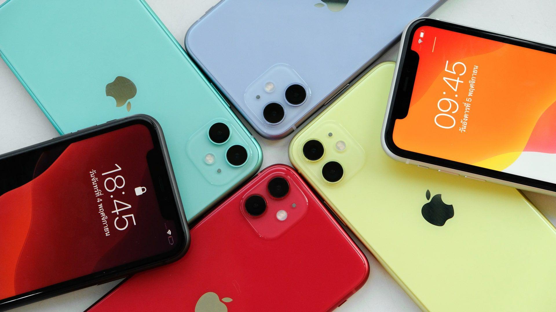 iPhone 11 oferece variedade de cores - Foto: Shutterstock