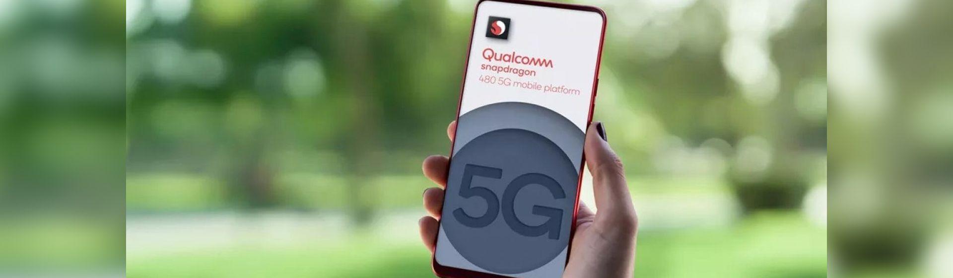 """Qualcomm lança o Snapdragon 480, processador """"básico"""" com 5G"""