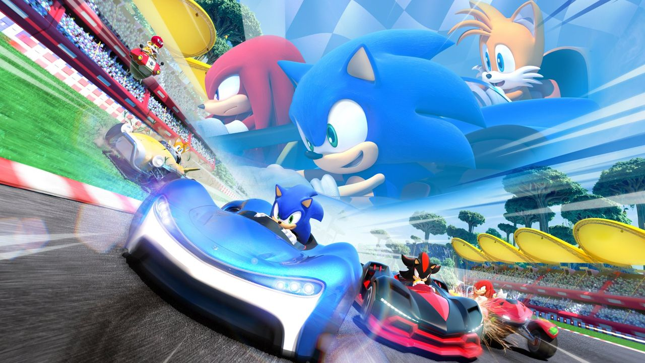 Sonic Team Racing, da SEGA. (Foto: Divulgação/SEGA)