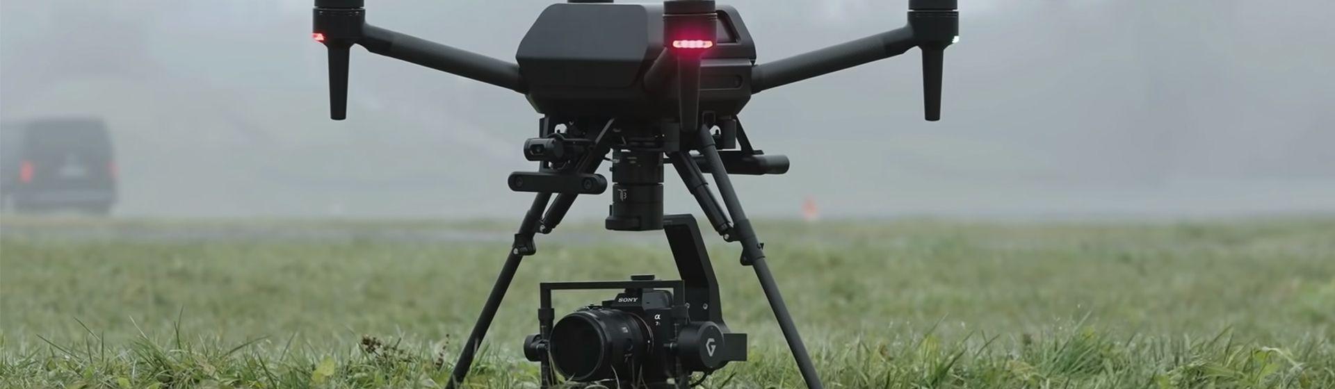 Sony lança o Airpeak, seu primeiro drone para filmagens profissionais