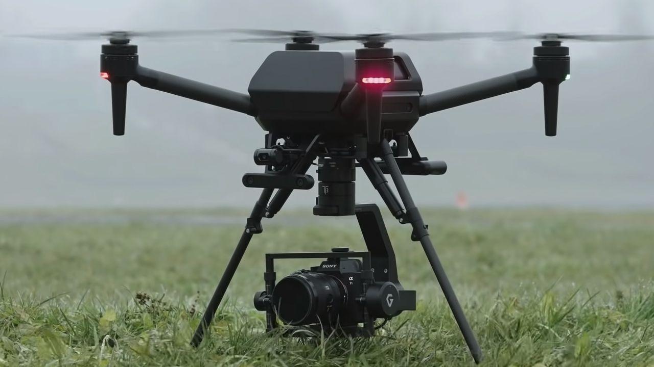 O Airpeak é o primeiro drone da Sony. (Foto: Divulgação/Sony)