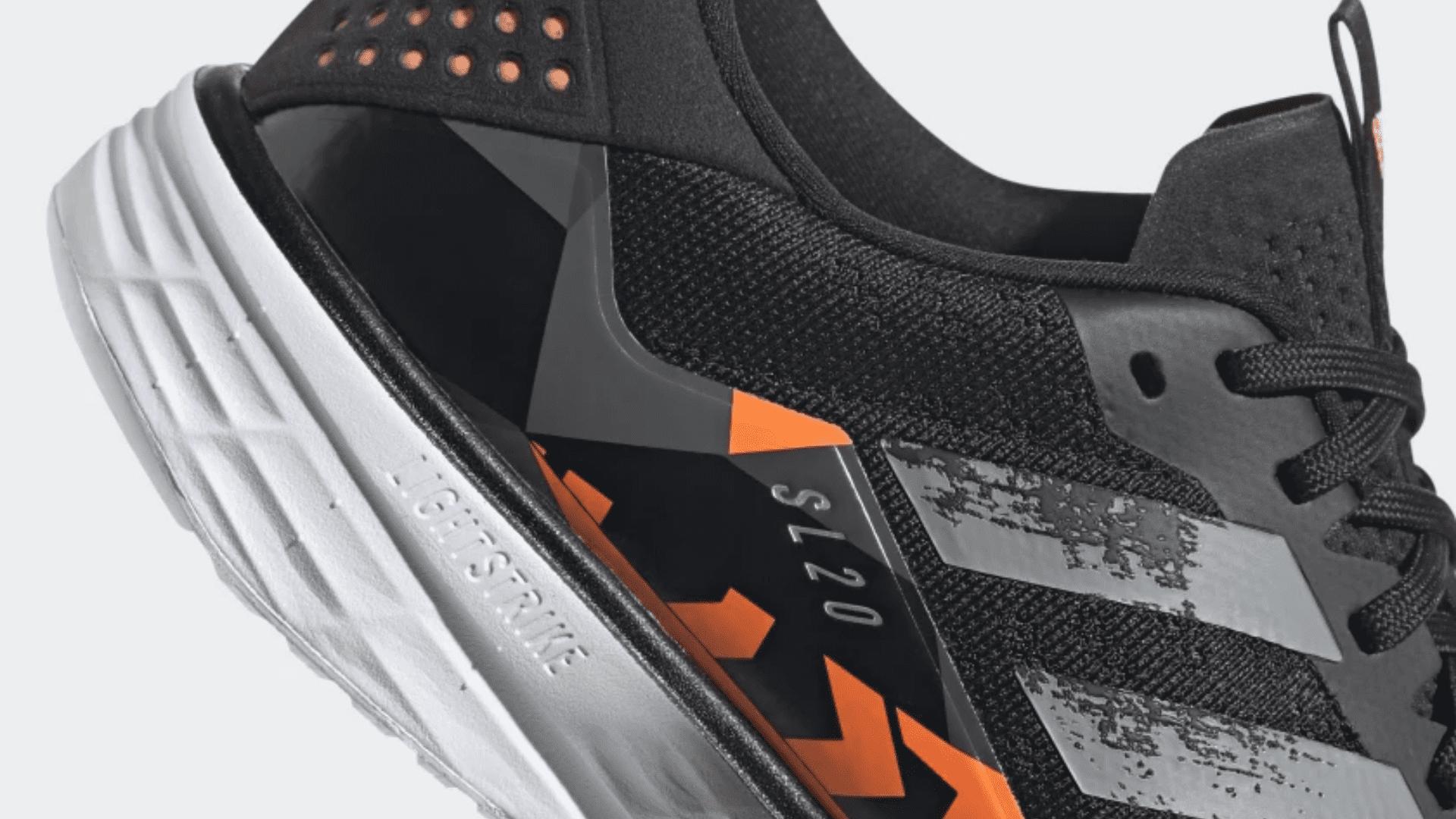 O Adidas SL20 garante um amortecimento leve e confortável (Imagem: Divulgação/Adidas)