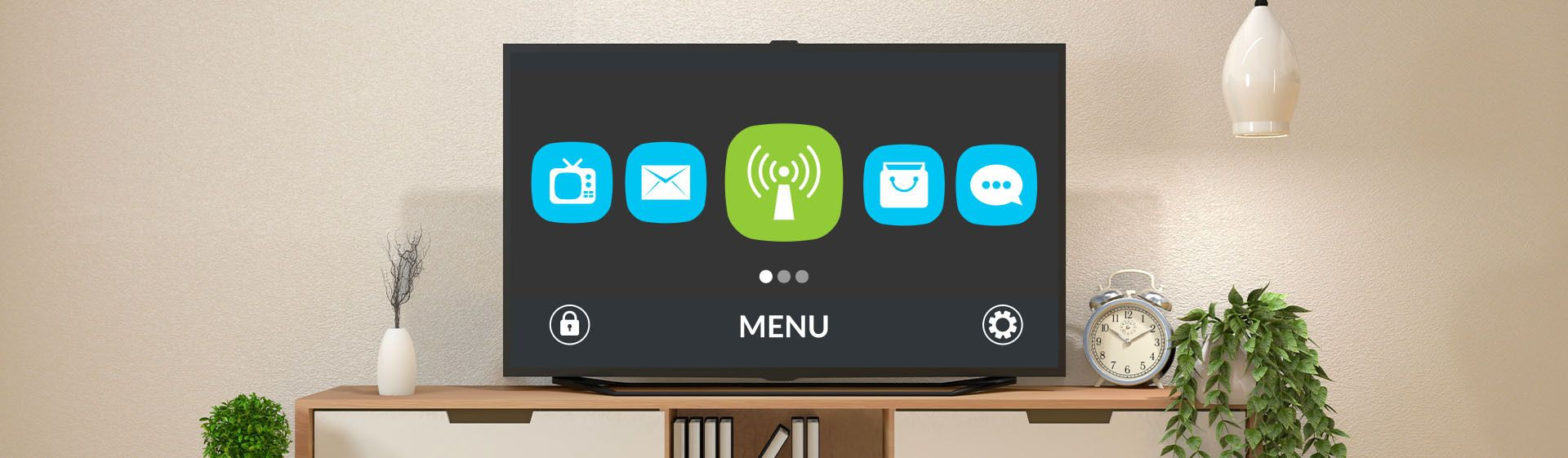 TVs com WiFi: ideais para navegar na internet em grandes telas