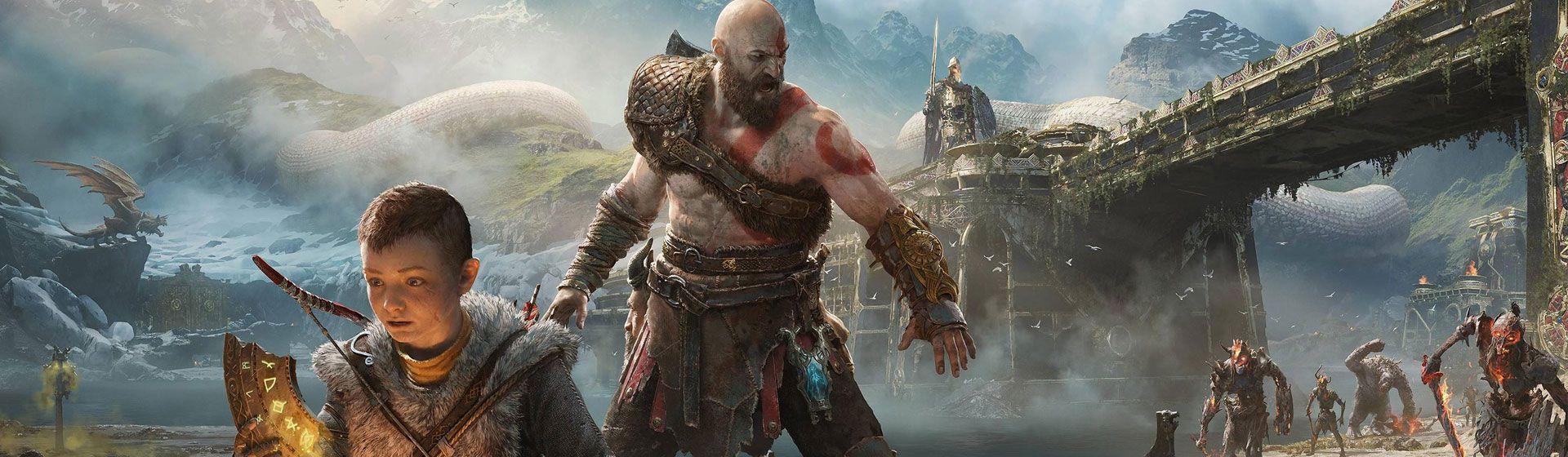 God of War recebe melhorias em performance e gráficos no PS5