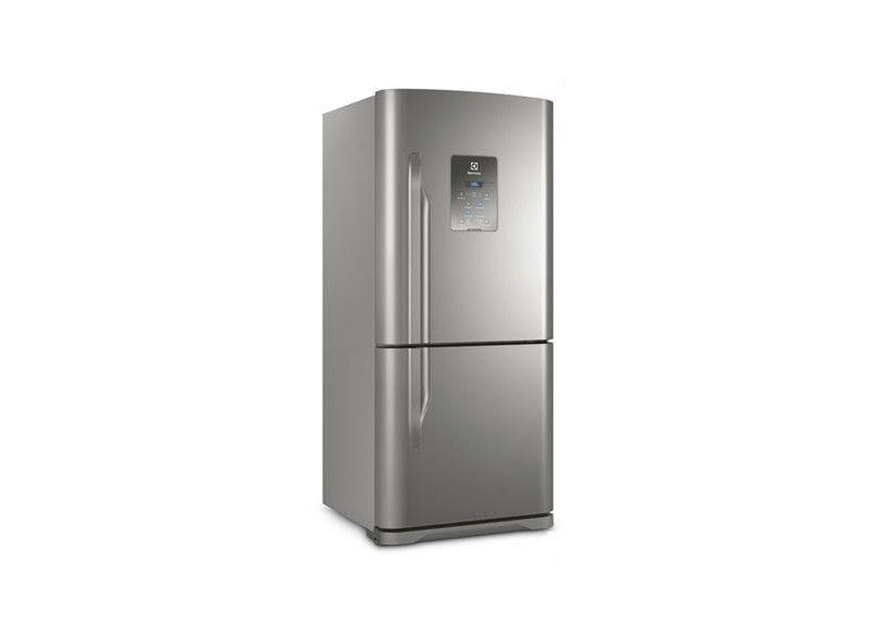 A Electrolux DB84X é a 1a colocada no nosso ranking, sendo uma ótima opção de geladeira grande inox. (Imagem: Divulgação/Electrolux)