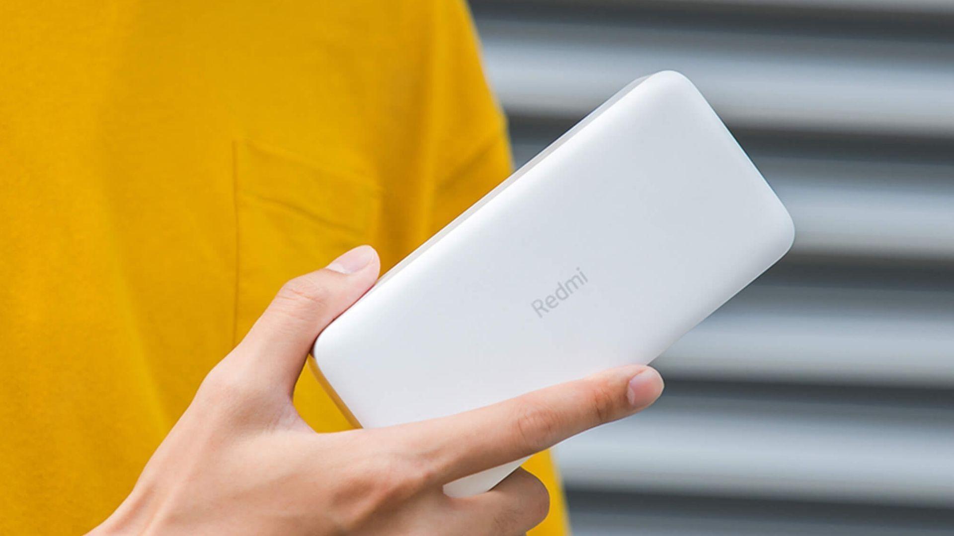 Bateria Externa Power bank Xiaomi 2C 20000mAh (Foto: Xiaomi / Divulgação)