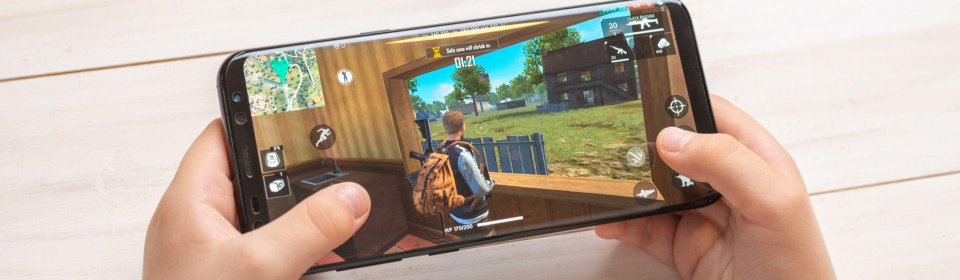 Melhor celular para jogar Free Fire