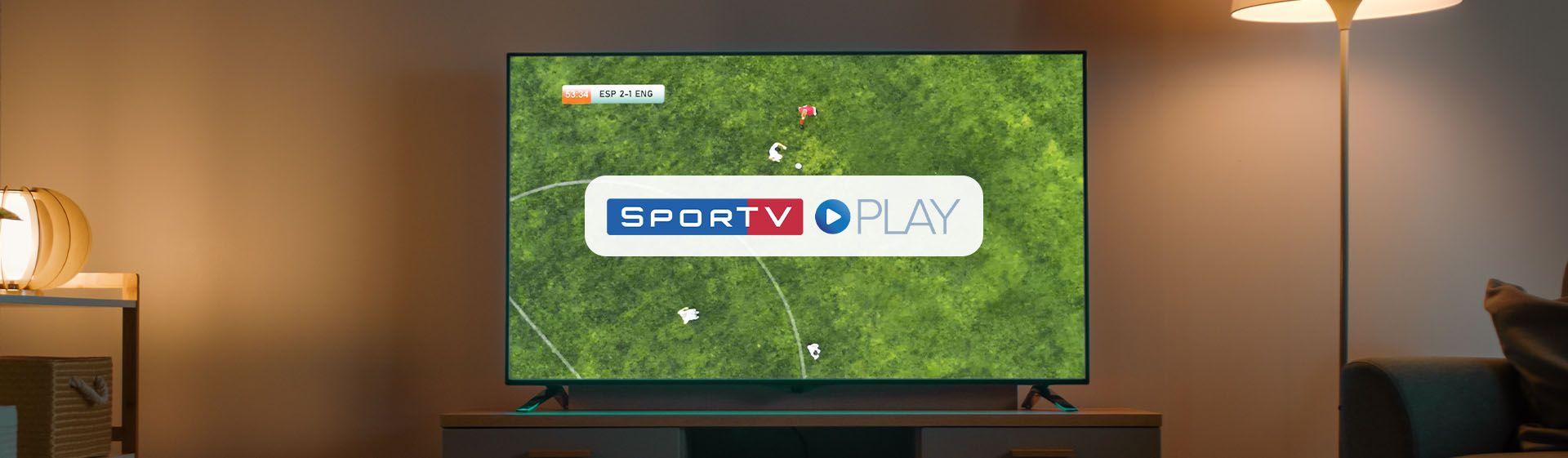 Como assistir Sportv Play na TV?
