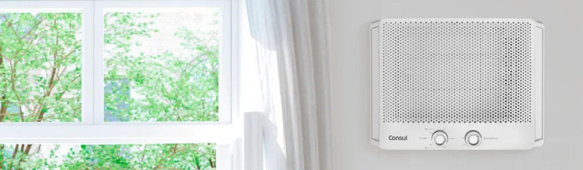 Como limpar ar-condicionado de janela?