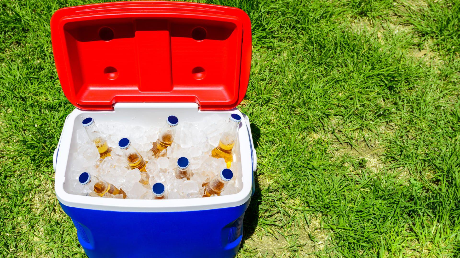 O cooler mantém as bebidas geladas por mais tempo e garante a refrescância dos drinks. (Imagem: Reprodução/Shutterstock)