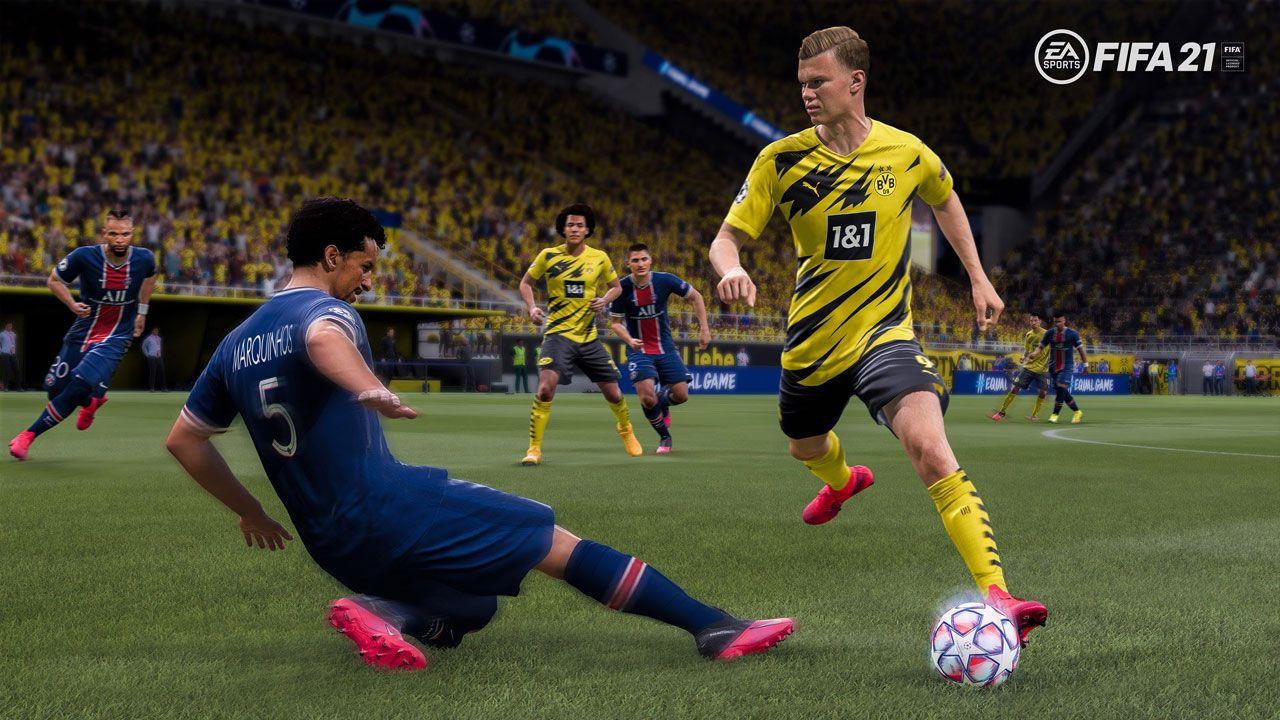Fifa 21 continua como a melhor opção de jogo de futebol, com boa jogabilidade e vários modos (Reprodução: PlayStation)