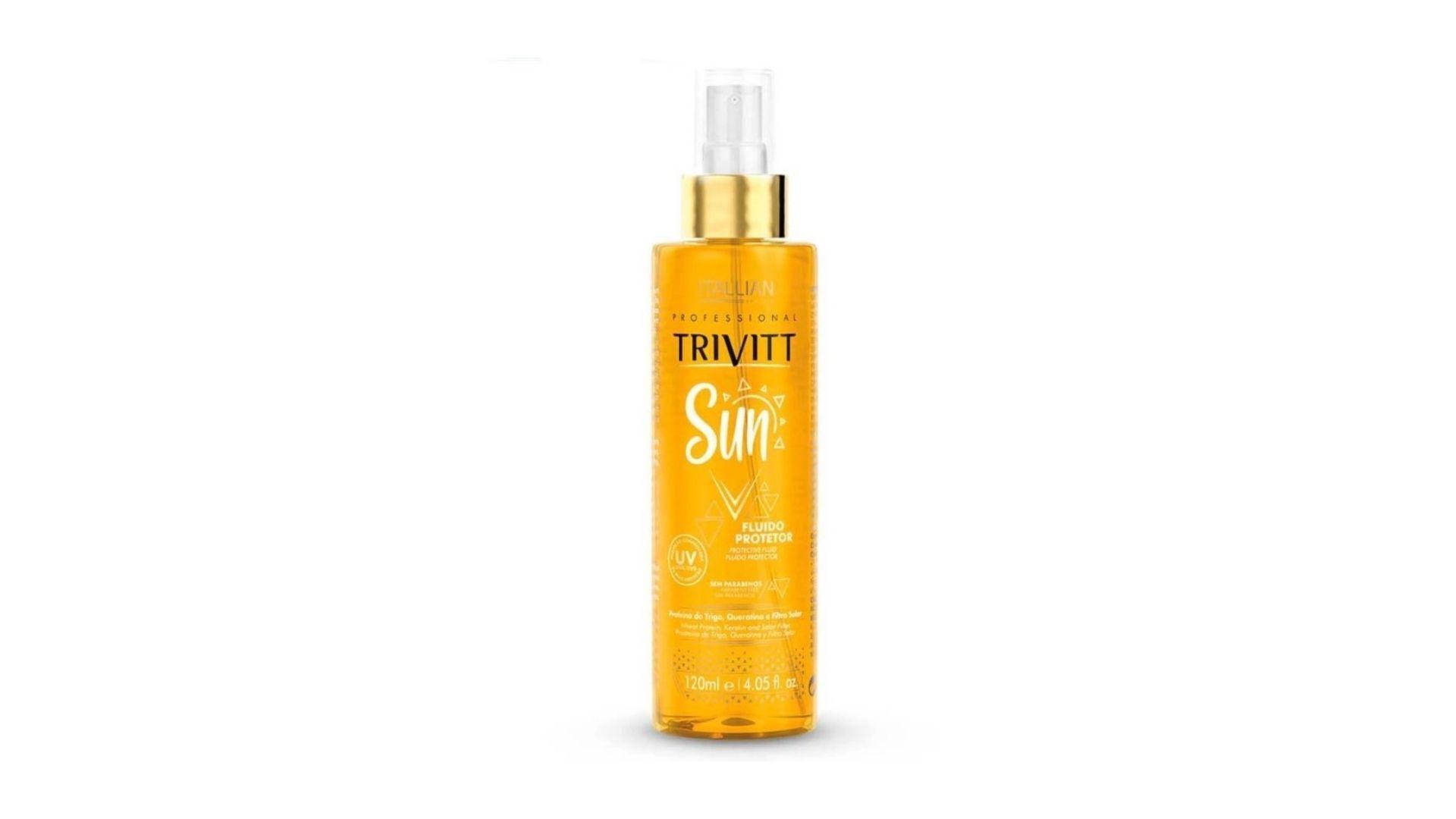 Que tal proteger os fios dos danos solares? A indicação do hair stylist é o Beach Sun, da Itallian Trivitt (Foto: Reprodução, Itallian Trivitt)