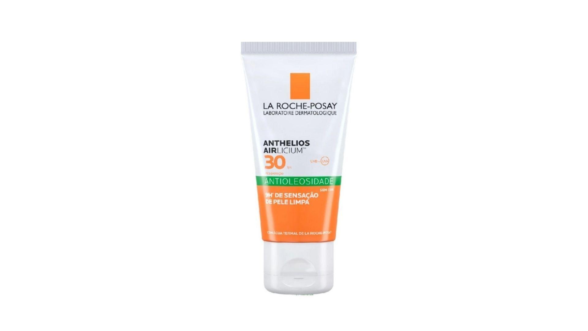 Nada de esquecer a proteção solar! A dermatologista indica o Anthelios Airlicium de La Roche-Posay (Foto: Reprodução, La Roche-Posay)