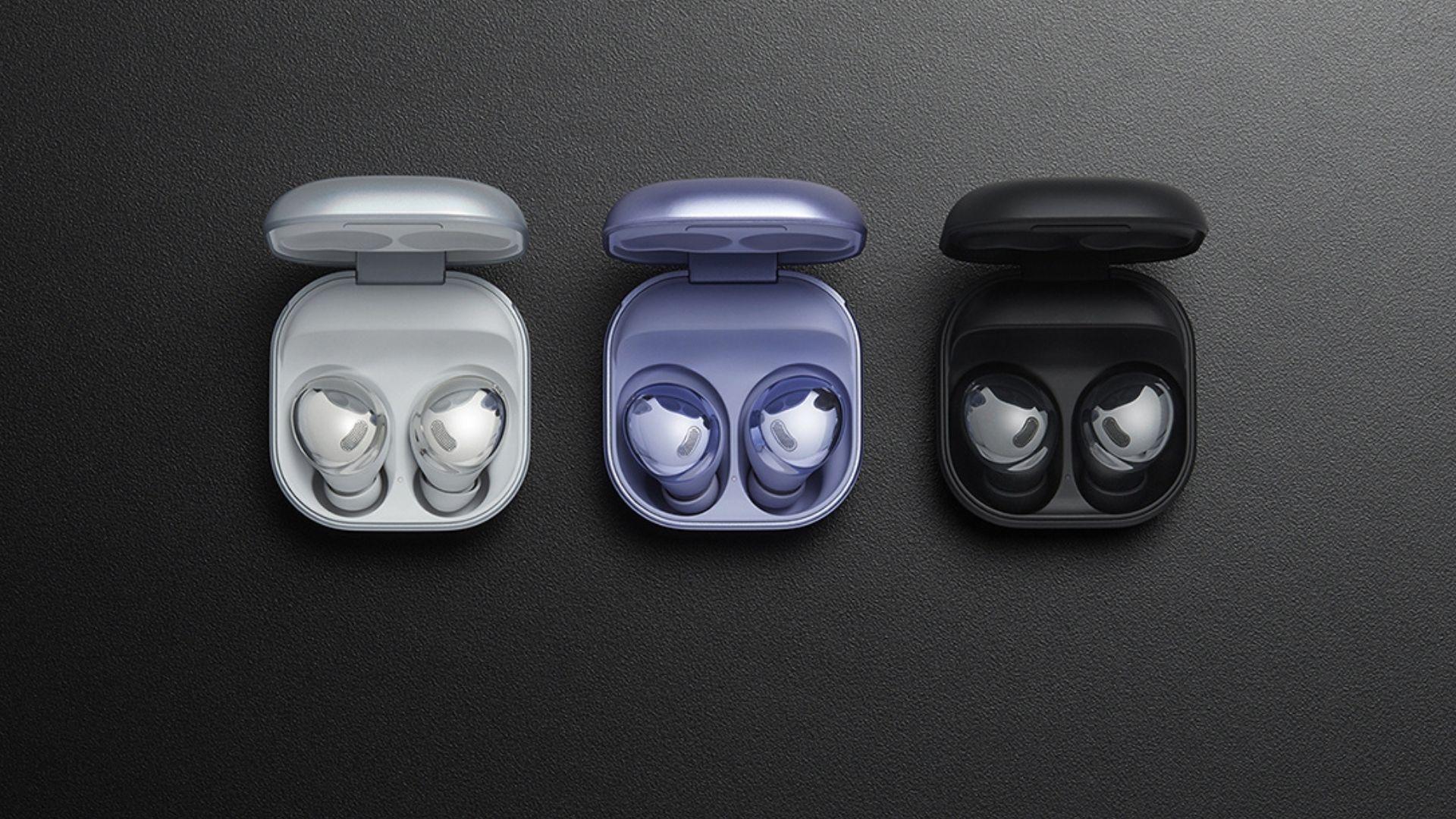 Galaxy Buds Pro chega em três opções de cores (Foto: Divulgação/Samsung)