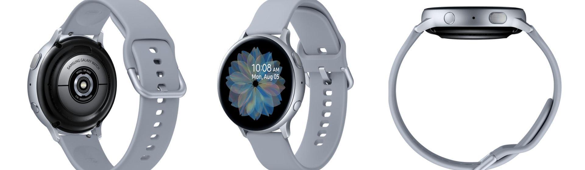 Galaxy Watch Active 2: análise de ficha técnica do smartwatch da Samsung