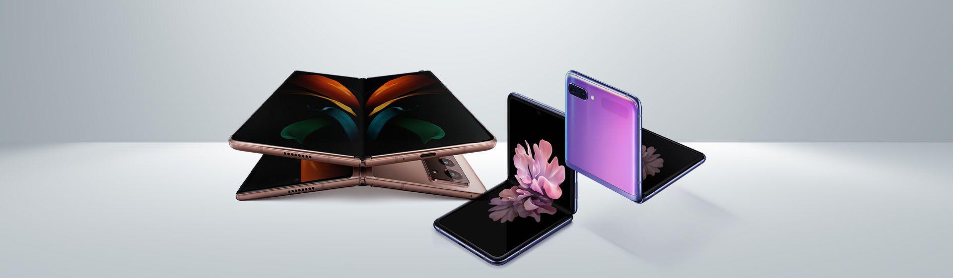 Samsung dobrável: comparativo entre Galaxy Z Flip e Galaxy Fold 2