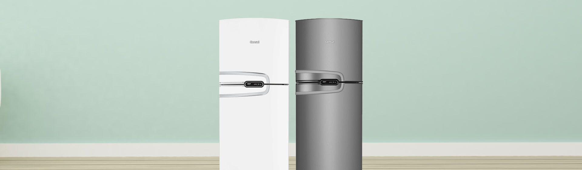 Consul CRM43 vs CRM54: qual dessas geladeiras Consul duplex é melhor?