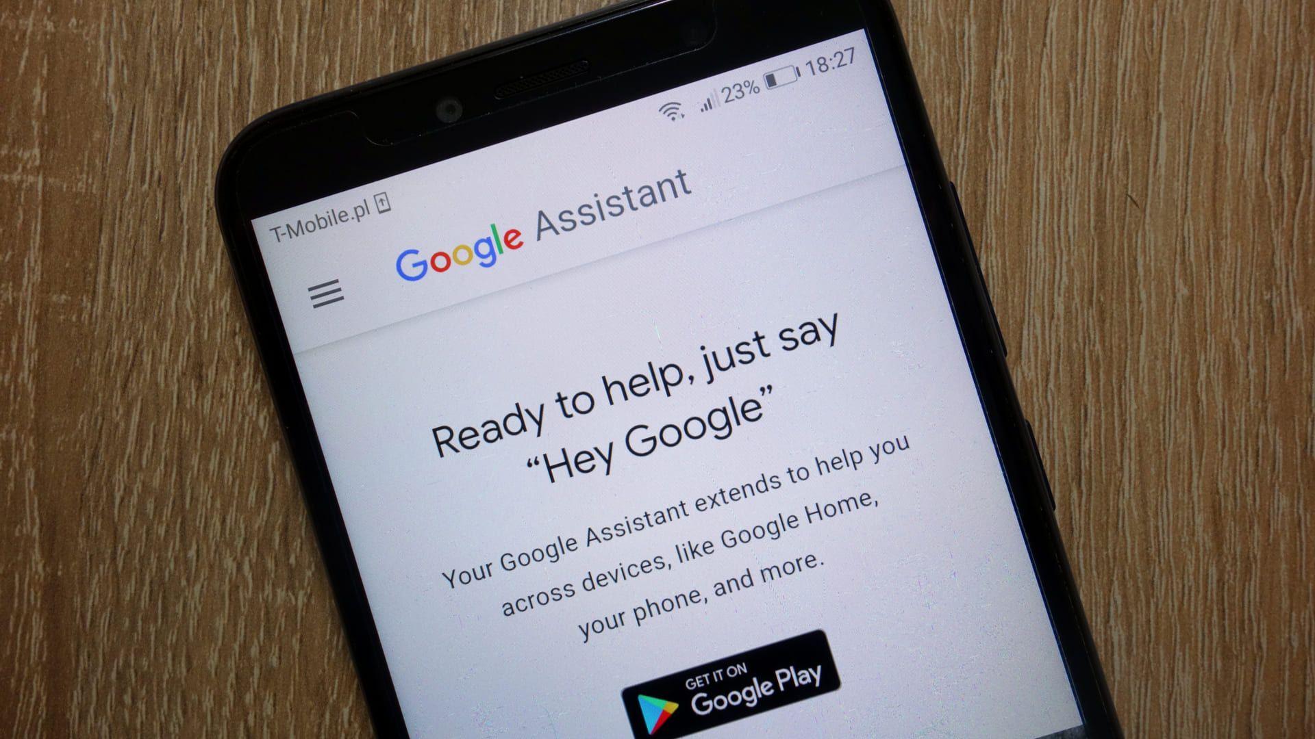 """Diga """"Ok Google"""" para descobrir informações com o assistente (Foto: Shutterstock)"""