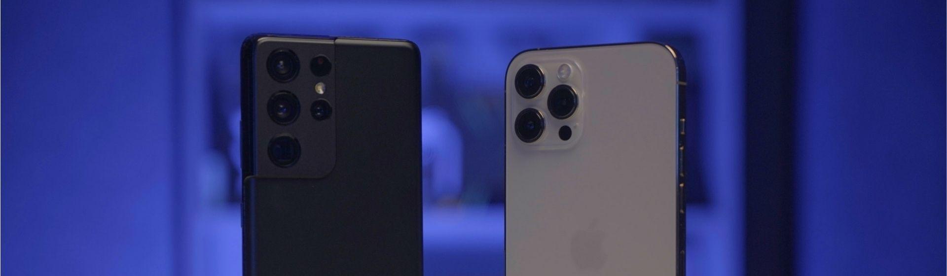 iPhone 12 Pro Max vs Galaxy S21 Ultra: qual é o melhor entre os dois?