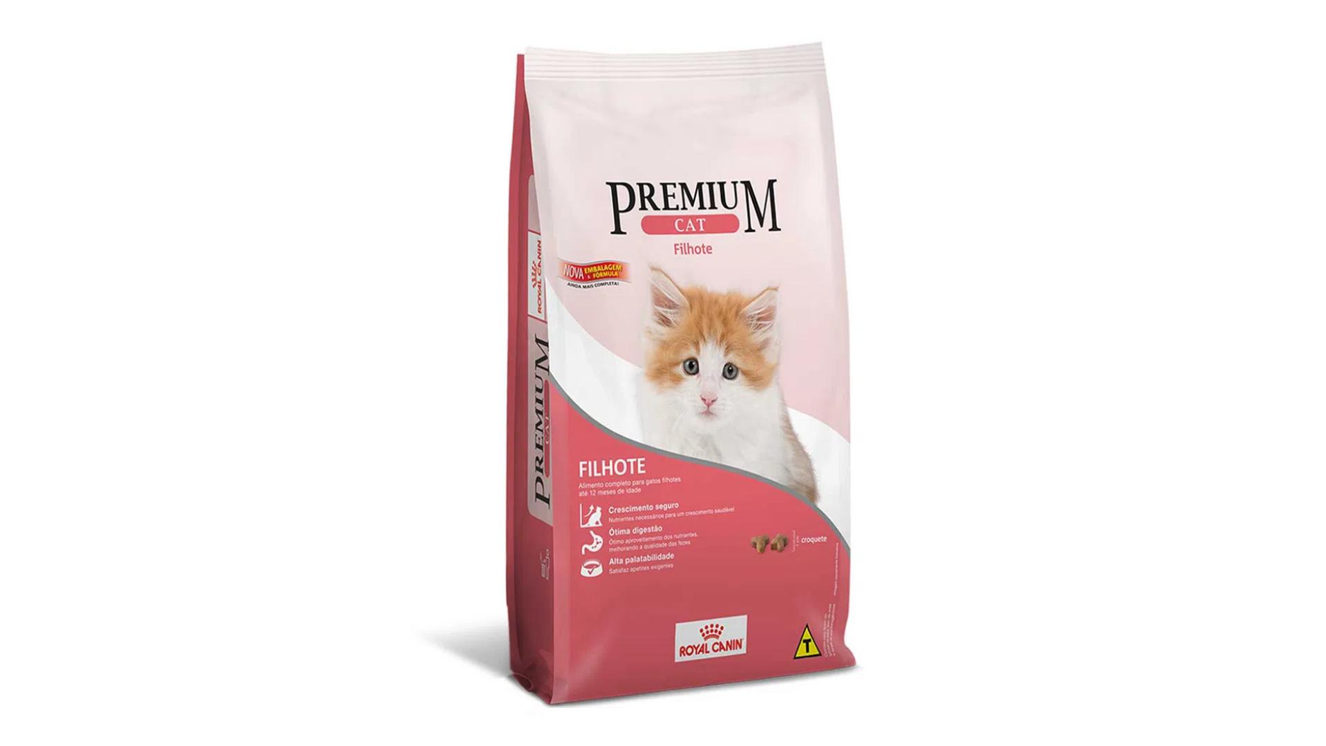 A ração Royal Canin Cat Premium Filhotes é do tipo Premium (Divulgação/Royan Canin)