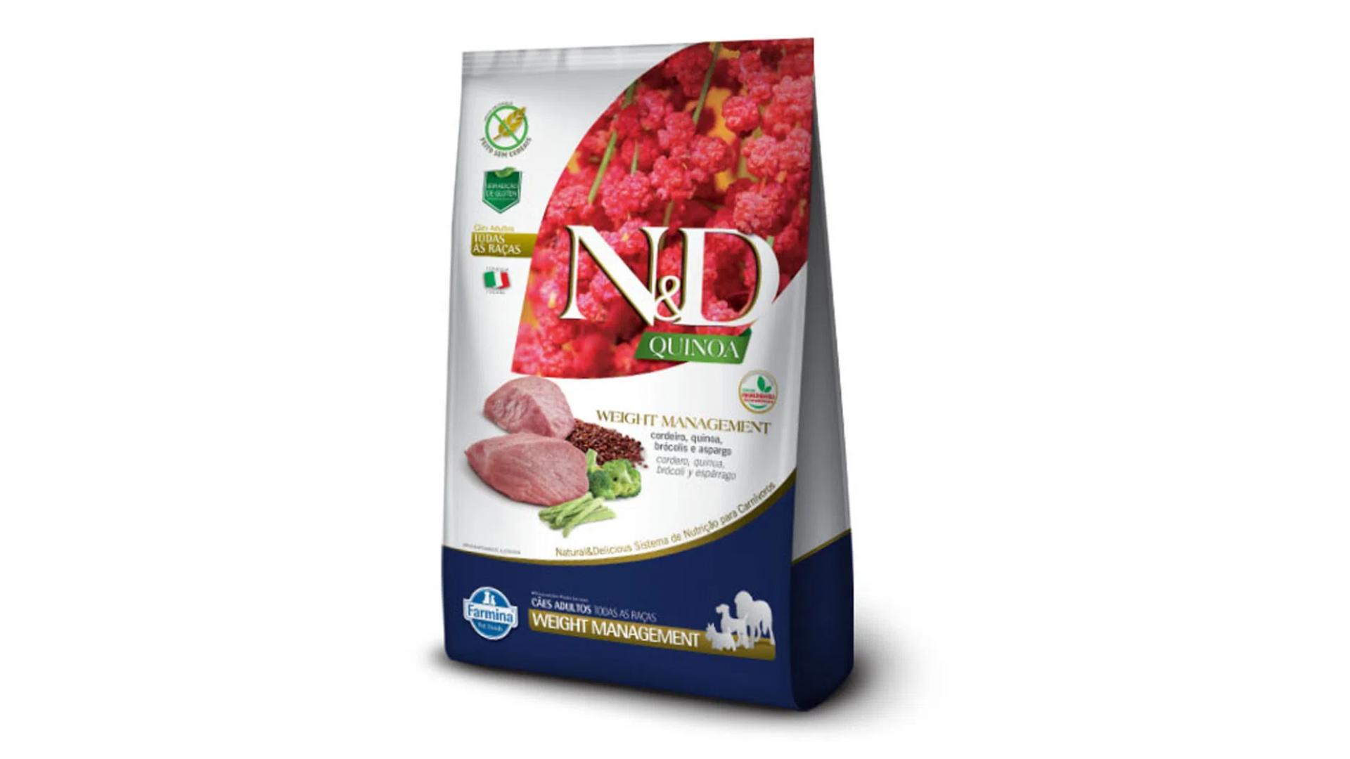 A ração Farmina N&D Weight é do tipo Super Premium (Divulgação/Farmina)