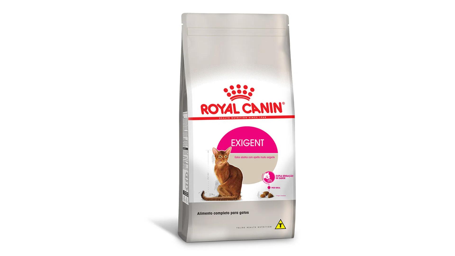 A ração Royal Canin Exigent é do tipo Super Premium (Divulgação/Royal Canin)