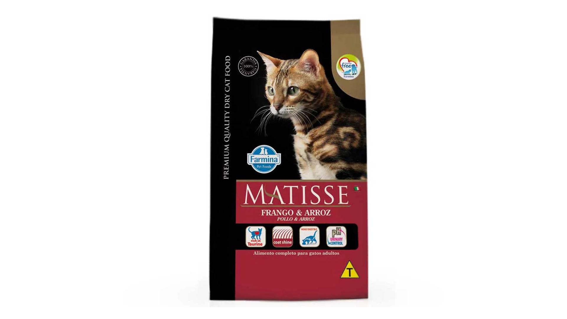 A ração Farmina Matisse Adultos é do tipo Premium (Divulgação/Farmina)