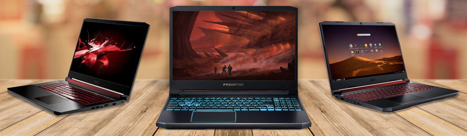 Melhores notebooks gamer Acer em 2021