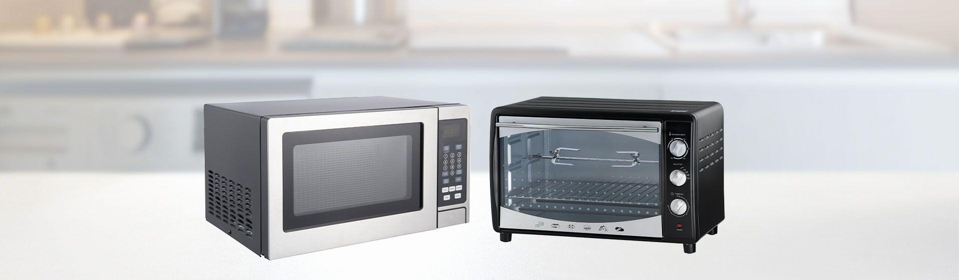 Quais as diferenças entre micro-ondas e forno elétrico?