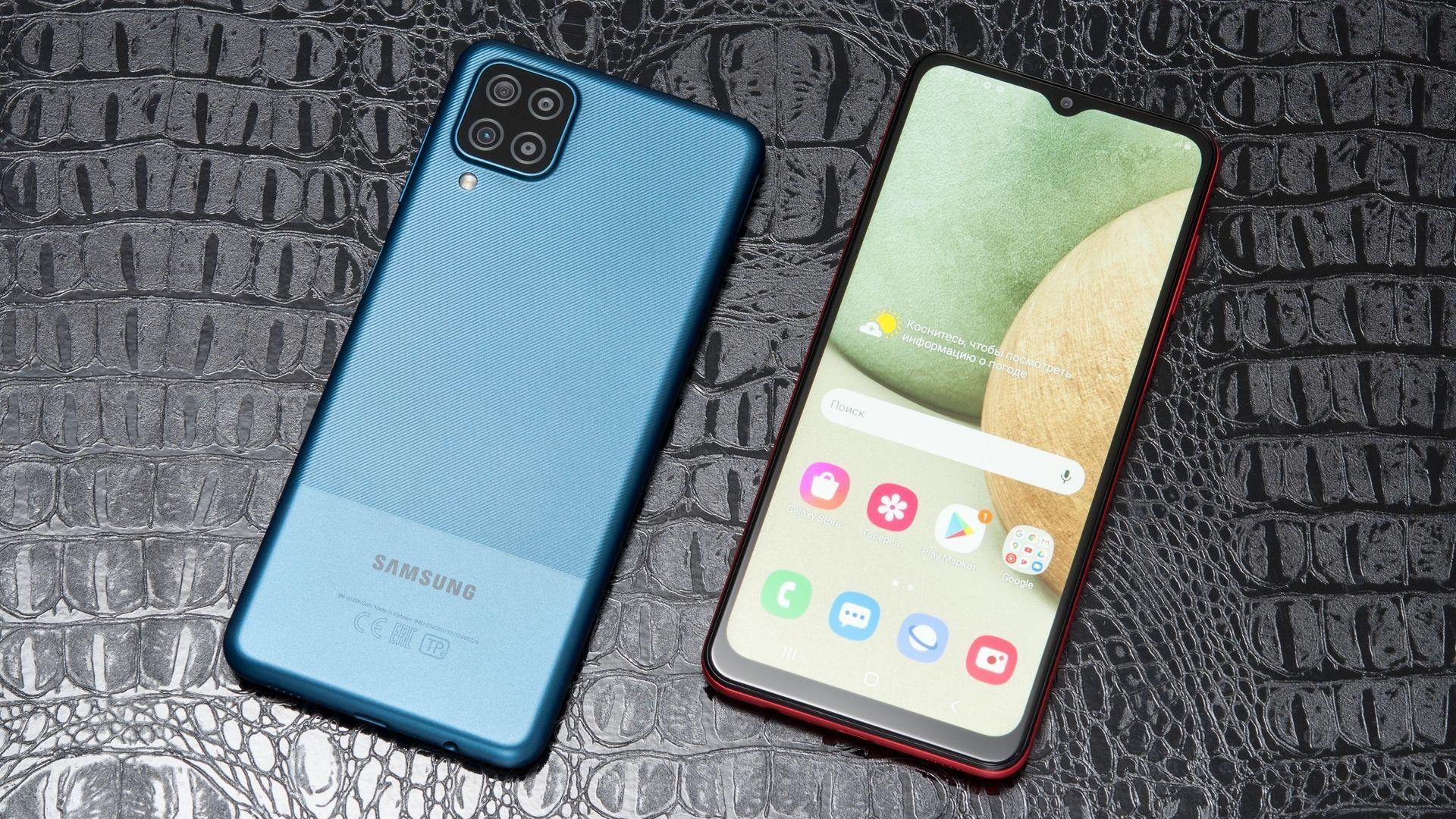 O Galaxy A12 é o melhor celular Samsung até 1500 reais. Shutterstock.