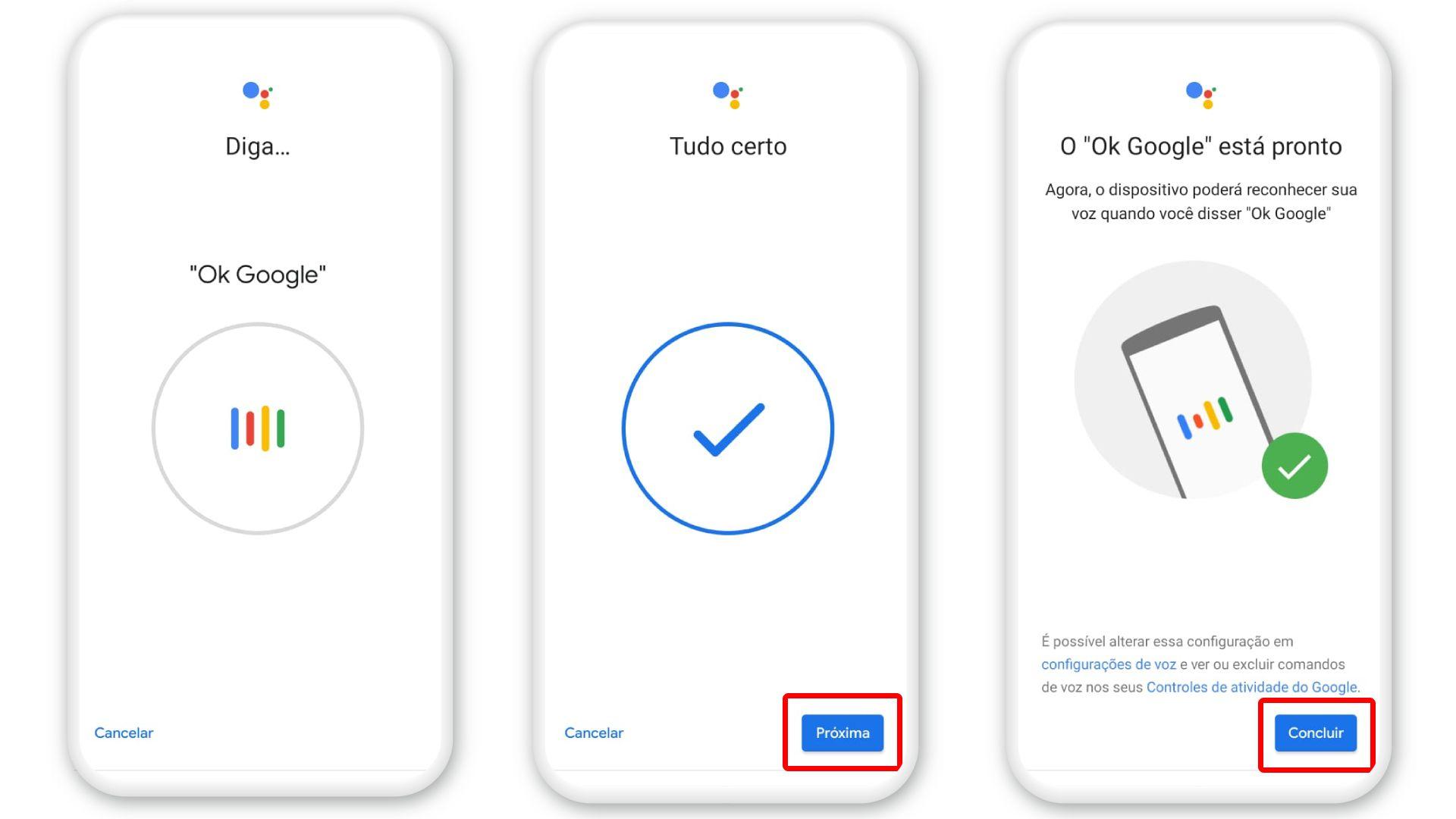 """Diga """"Ok Google"""" para ativar (Foto: Arte/Zoom)"""