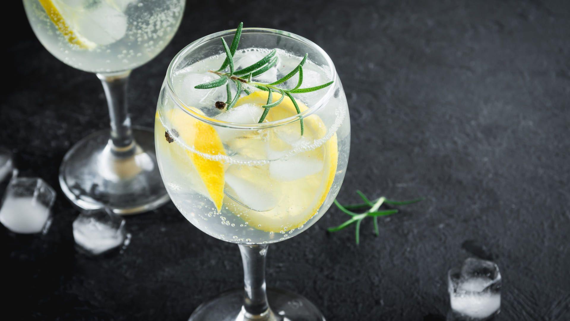Dê um Zoom no passo a passo de como fazer Gin Tônica. (Imagem: Reprodução/Shutterstock)