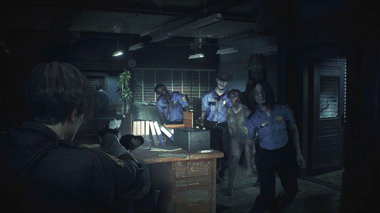 O remake de Resident Evil 2 permitiu que jogadores explorassem detalhes que antes só existiam na imaginação (Reprodução: PlayStation)