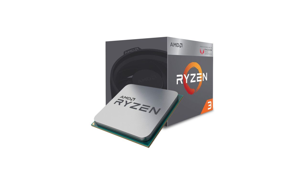 Ryzen 3 3200G faz parte da nova geração dos processadores AMD (Foto: Divulgação/AMD)