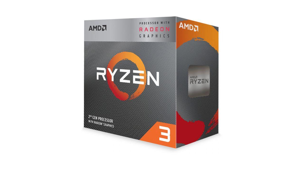 Ryzen 3 3200G é atual e bate de frente com rivais (Foto: Divulgação/AMD)