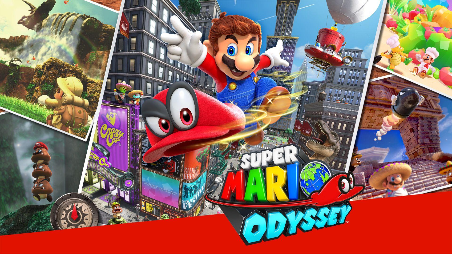 Super Mario Odyssey é um dos jogos do Nintendo Switch de destaque (Foto: Divulgação/Nintendo)