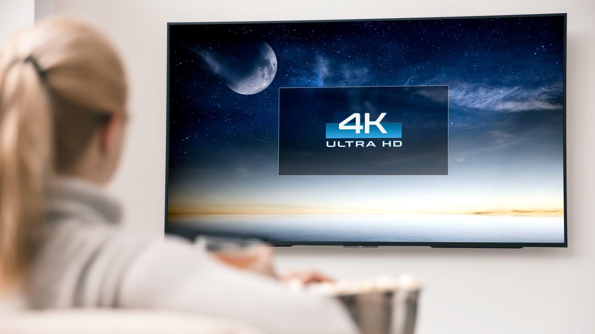 As TVs 4K são as mais indicadas para gamers. (Imagem: Reprodução/Shutterstock)