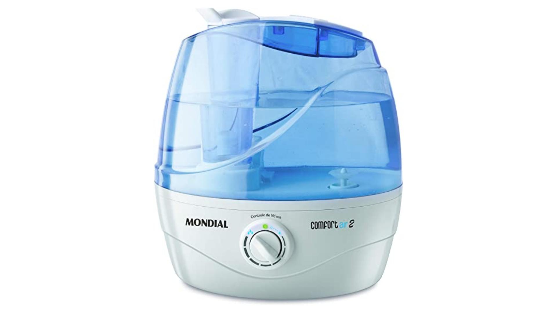 O umidificador de ar da Mondial é o mais barato da nossa lista. (Imagem: Divulgação/Mondial)