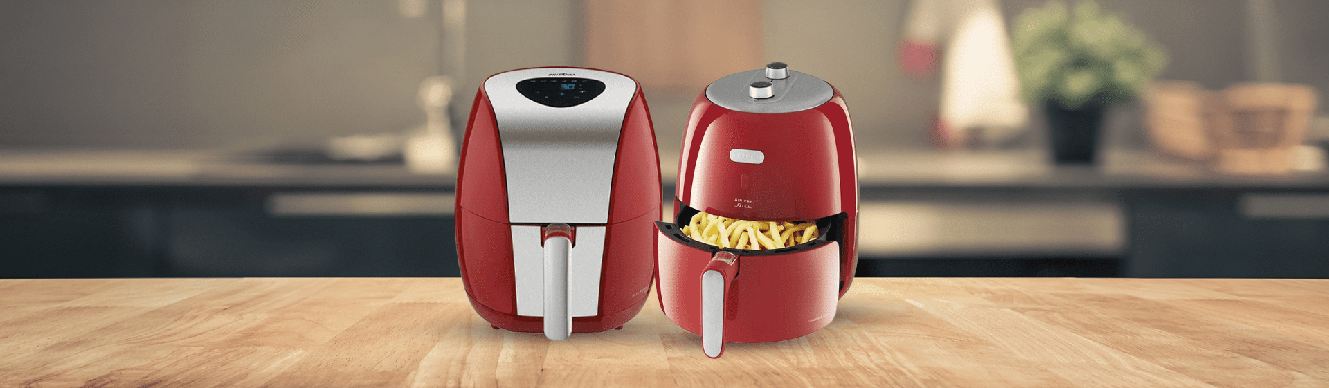 Airfryer vermelha: 5 opções para deixar a sua cozinha mais colorida