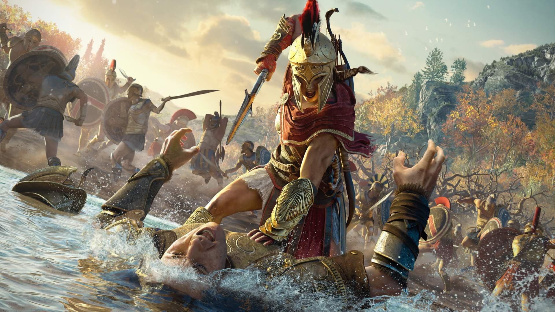 Assassin's Creed: Odyssey se passa antes mesmo dos assassinos e templários existirem (Fonte: Shutterstock/Choudhary s)
