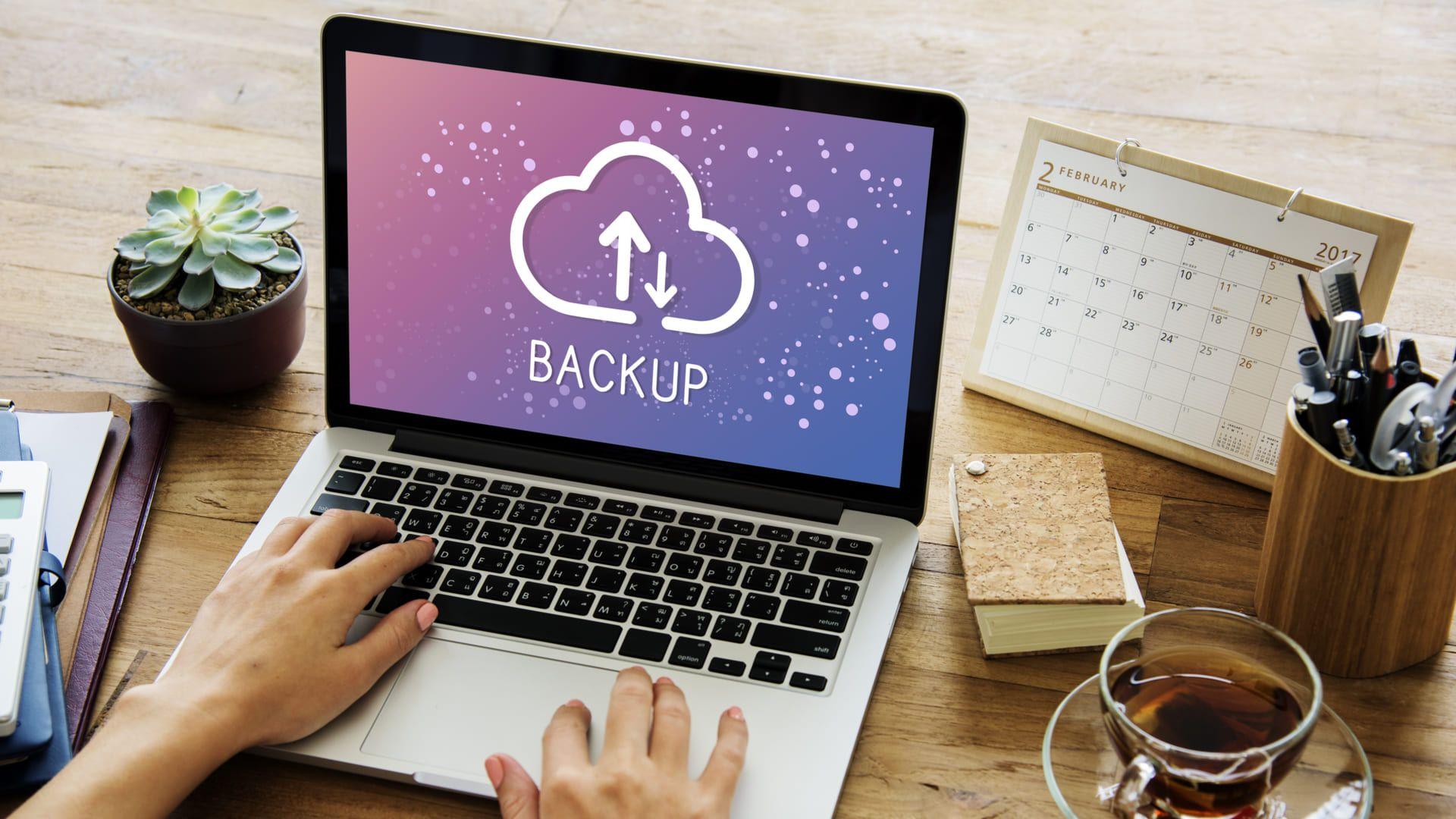 """Backup é um termo que significa """"cópia de segurança"""" em português (Foto:Shutterstock)"""