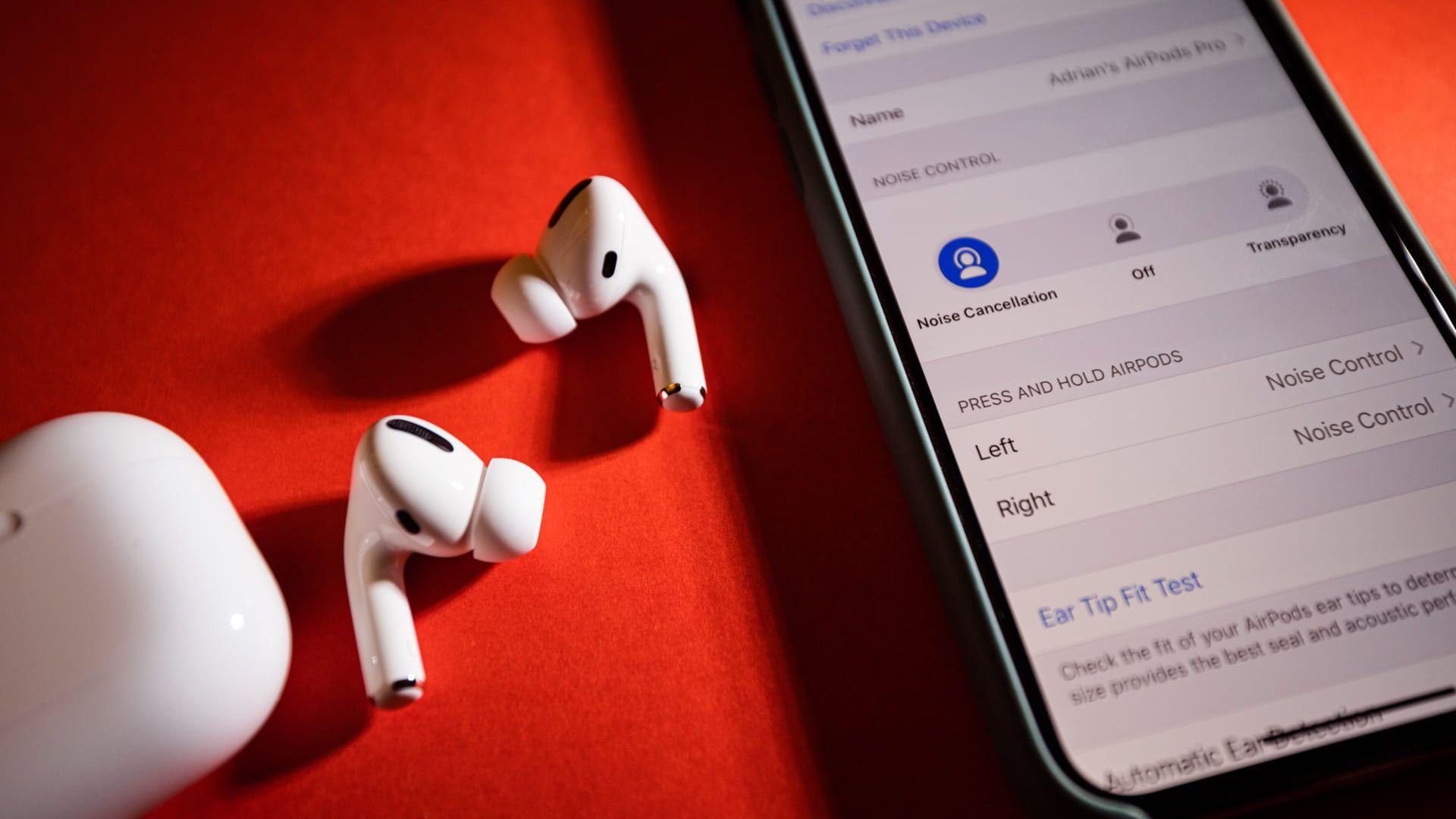 Cancelamento de ruído do AirPod Pro (Foto: Shutterstock)