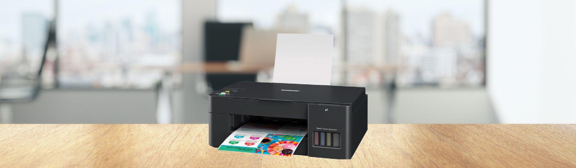 Brother lança linha de impressoras multifuncionais InkBenefit Tank