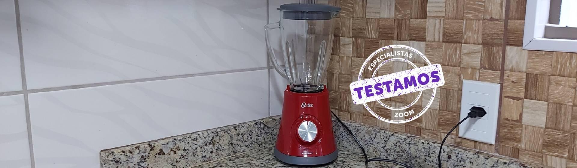 Liquidificador Oster Super Chef: muito eficiente, mas barulhento