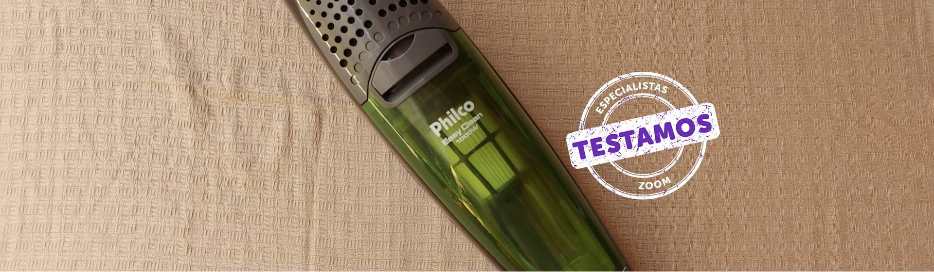 Aspirador de pó Philco Easy Clean: eficiente, mas pesado e barulhento