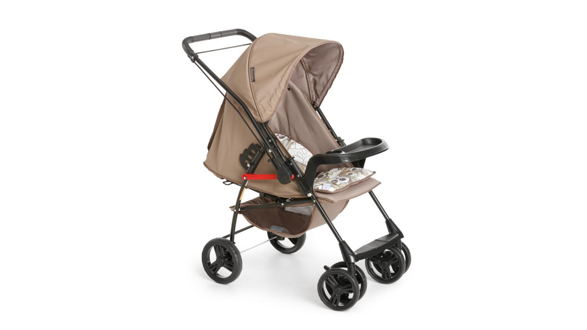 O Galzerano Milano Reversível II é um carrinho de bebê de 4 rodas (Imagem: Divulgação/Galzerano)