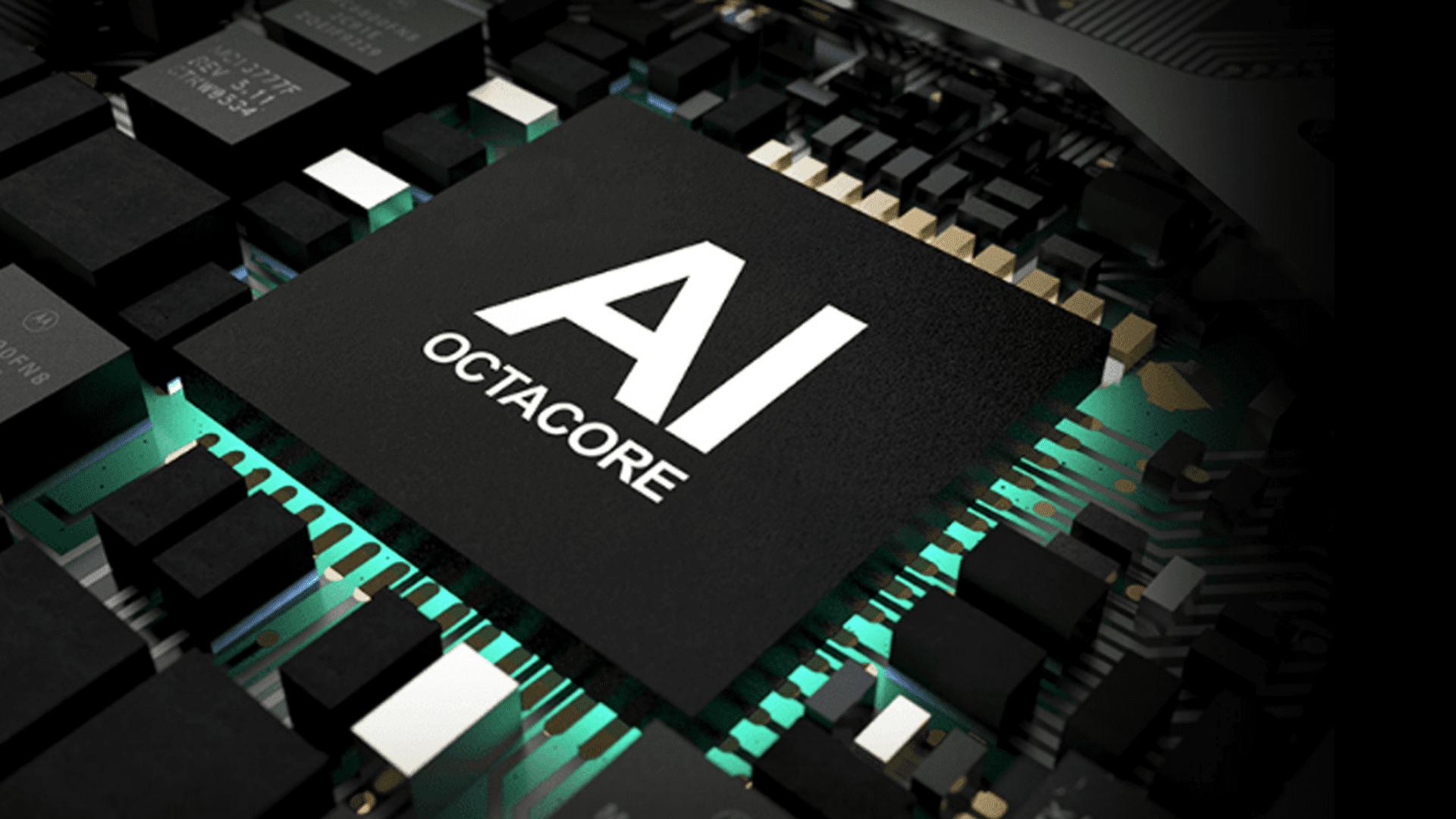 O Snapdragon 665 usa IA para aprimorar seu desempenho. (Foto: Divulgação/Motorola)