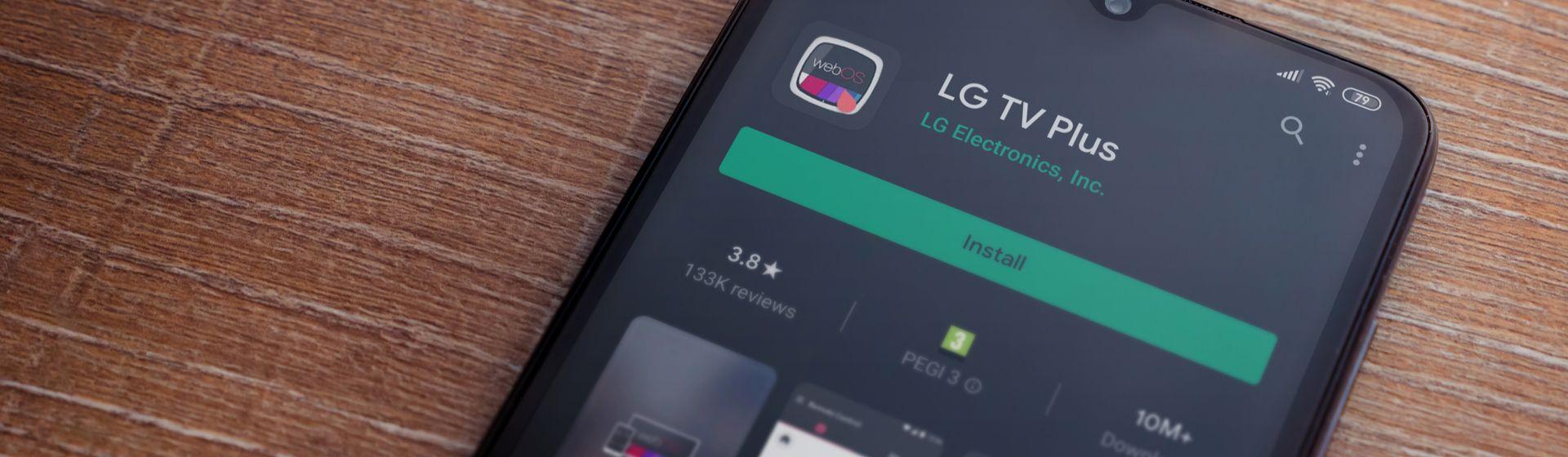 Como conectar o celular na TV LG?