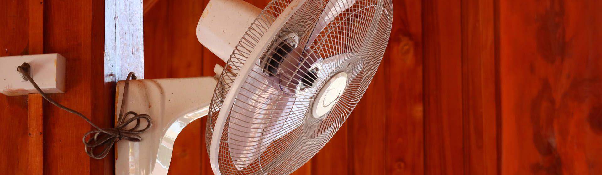 Como instalar ventilador de parede?